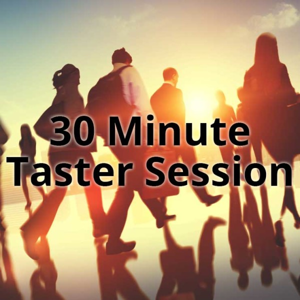 30 minute taster session – English language lessons