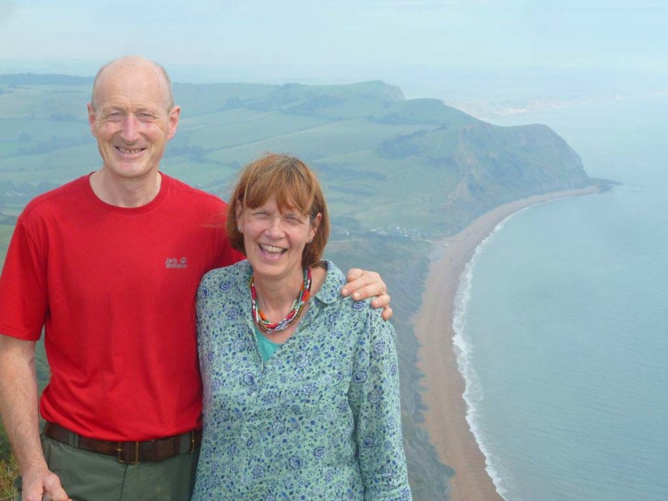 A big welcome from Jenny and Steve